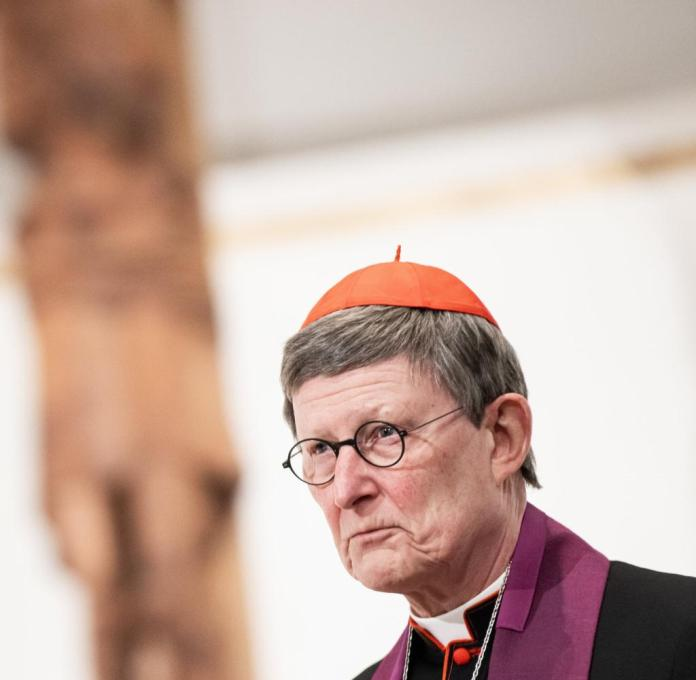 Cardinal Rainer Maria Woelki, Archbishop of Cologne, speaks at the ecumenical prayer at the beginning of the Passion