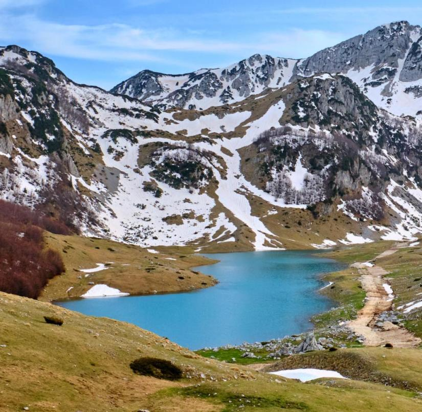 Montenegro: The Durmitor National Park has been a UNESCO World Heritage Site since 1980