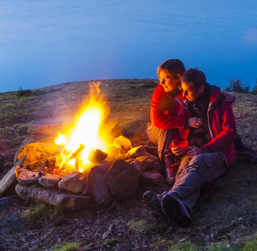 Camping holidays: More and more people like to slip back into tents