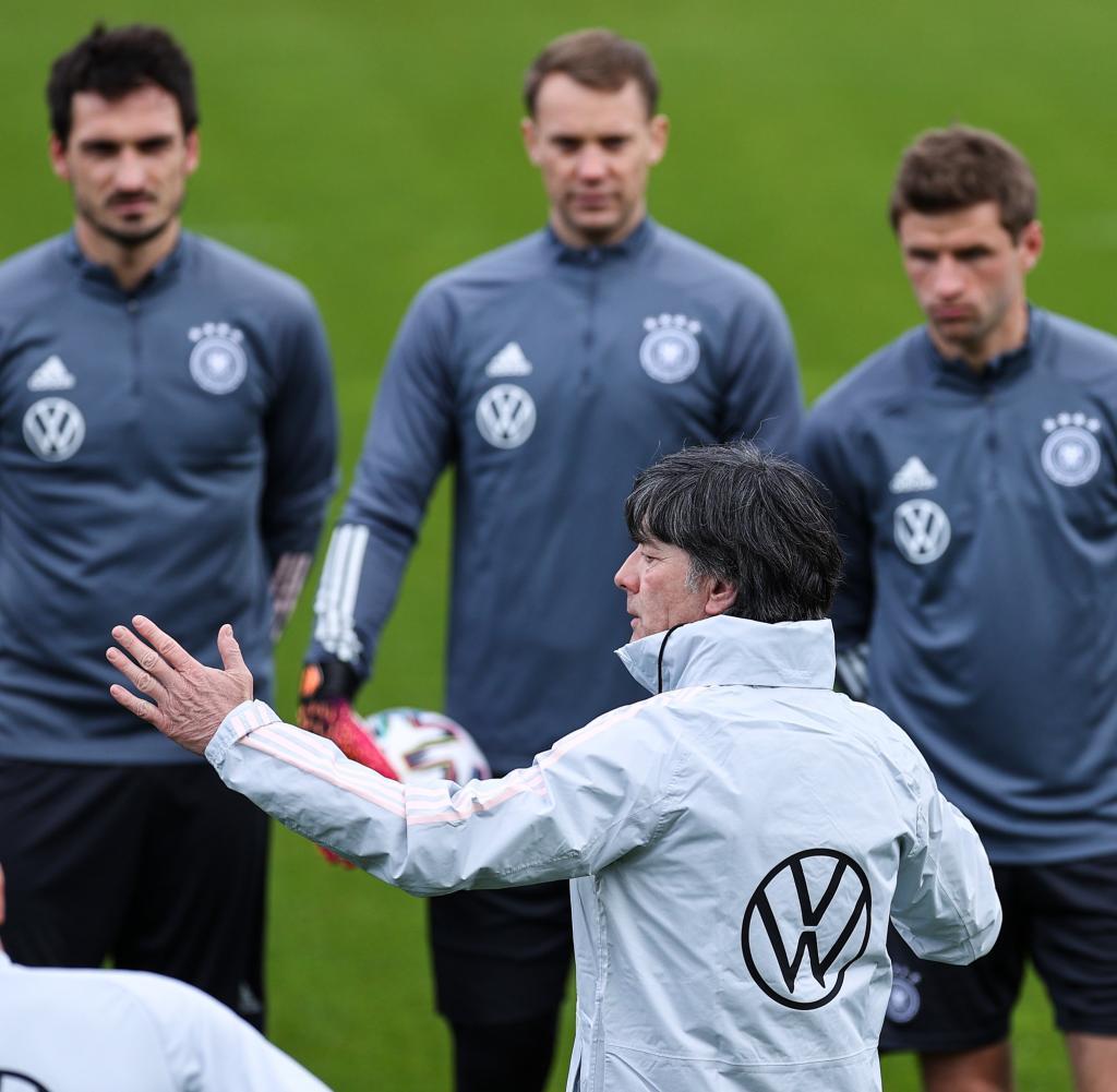 Soccer EM - German national soccer team training camp