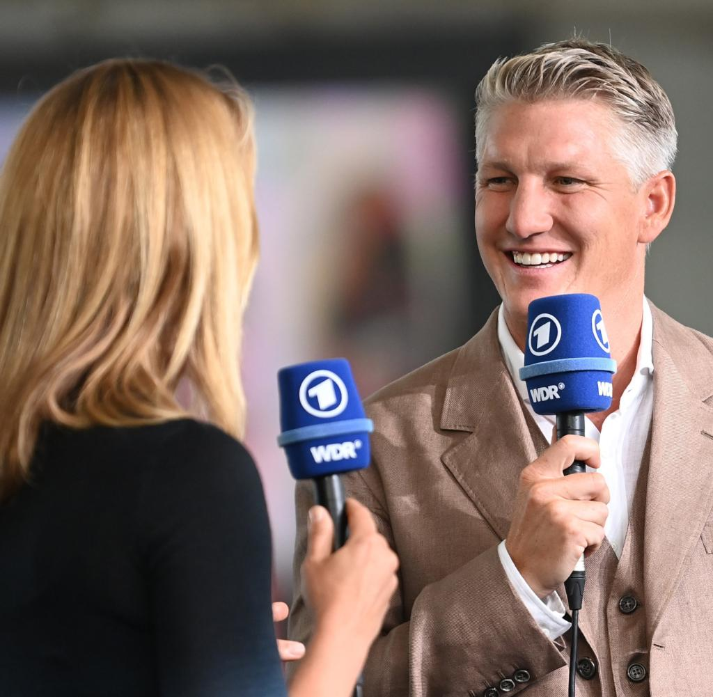 Bastian Schweinsteiger was in action at the European Football Championship for ARD