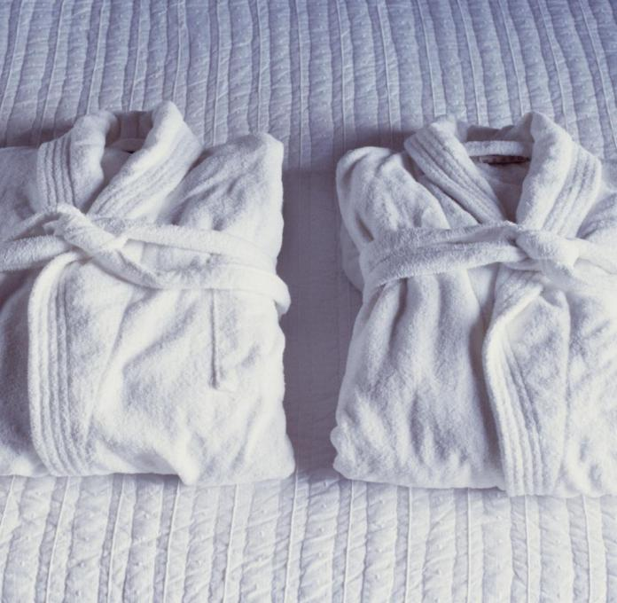 Bathrobes from a brothel that is well known in Berlin play a central role in the cause (symbolic image)