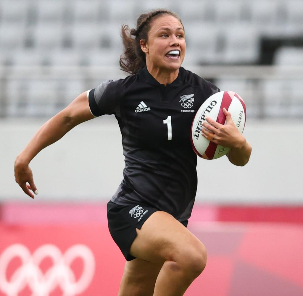 Rugby Sevens - Women - Pool A - New Zealand v Russian Olympic Committee