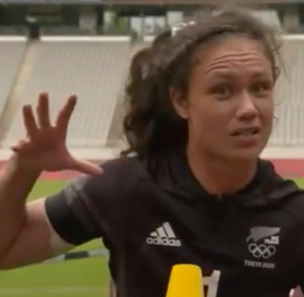 Unstoppable: Rubes Tui amazed even the BBC interviewer