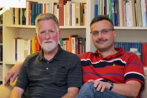 Großcousins, die sich übers Internet fanden: Helmut Lorenz (l.) und Mario Nitzsche (r.).