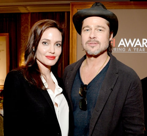 Image result for angelina and brad getty images