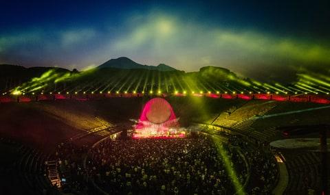 David Gilmour live in pompeii film