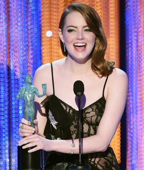 Image result for emma stone sags 2017