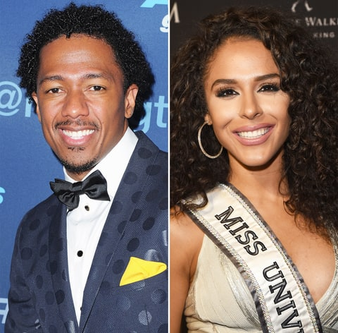 Nick Cannon and Brittany Bell
