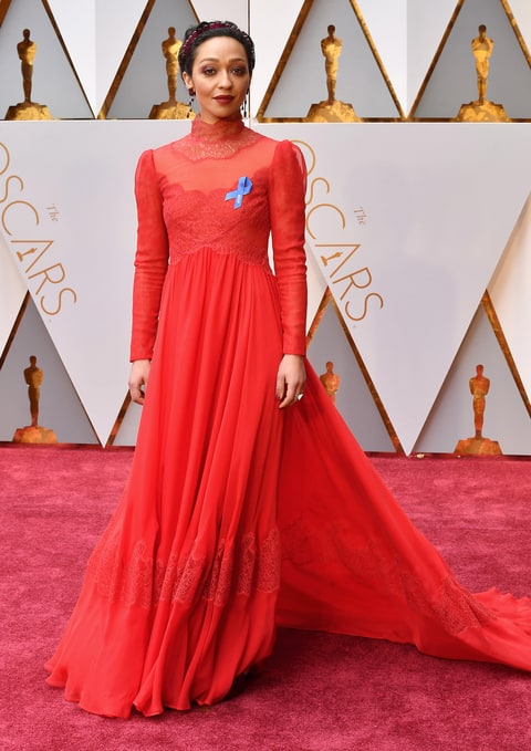 Image result for oscars fashion 2017 ruth