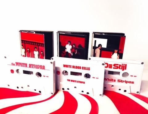 the white stripes cassette store day white tapes jack white third man