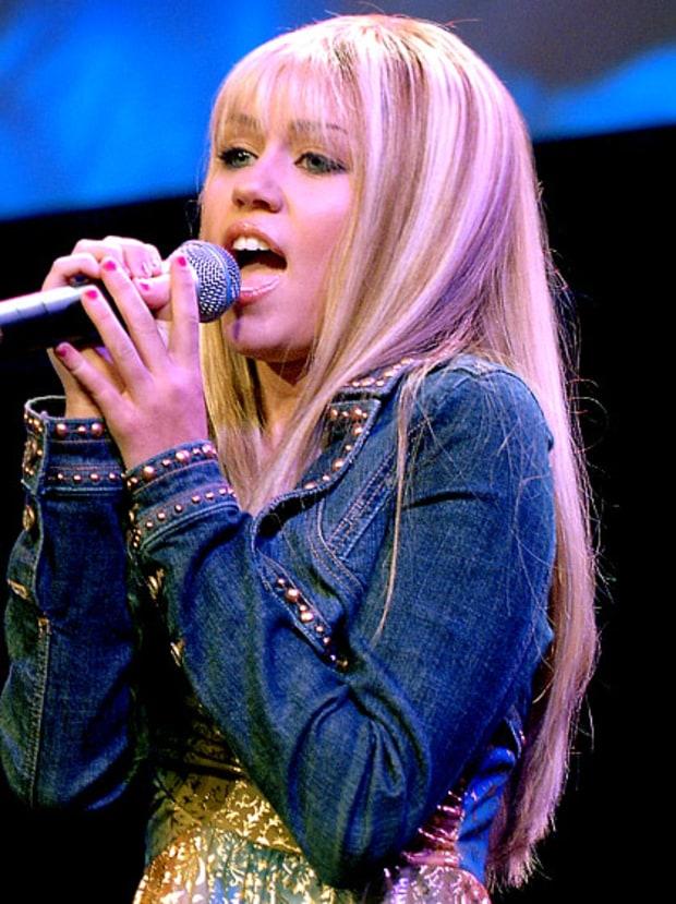 Shes Hannah Montana Miley Cyrus Hair Evolution Us