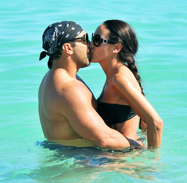 Melissa And Joe Gorga New Years Kisses Through The