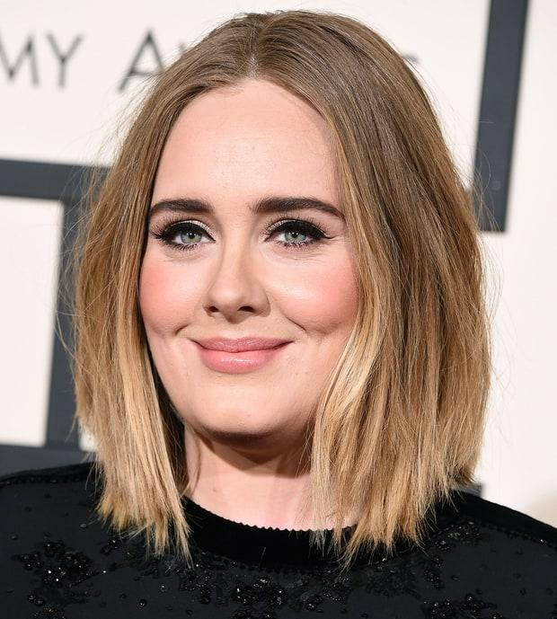 Adeles Cat Eye Grammys 2016 Beauty Breakdown Red