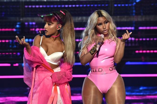 Worst: Ariana Grande and Nicki Minaj Sweat to the Oldies
