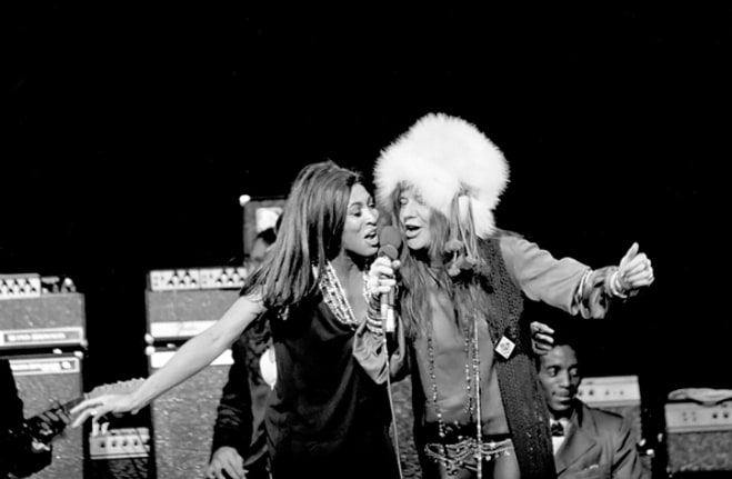 Janis Joplin & Tina Turner