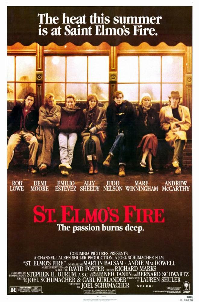 23. 'St. Elmo's Fire'