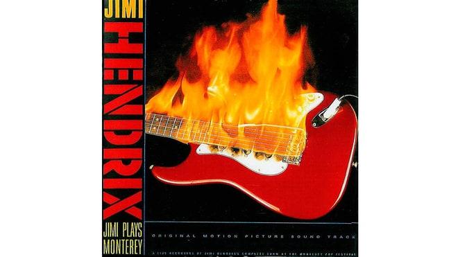 Jimi Hendrix, 'Jimi Plays Monterey' (1986)