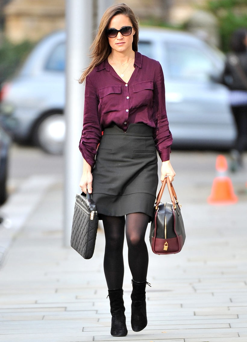 Pippa Middleton Pippas Looking Plum Hot Pics Us Weekly