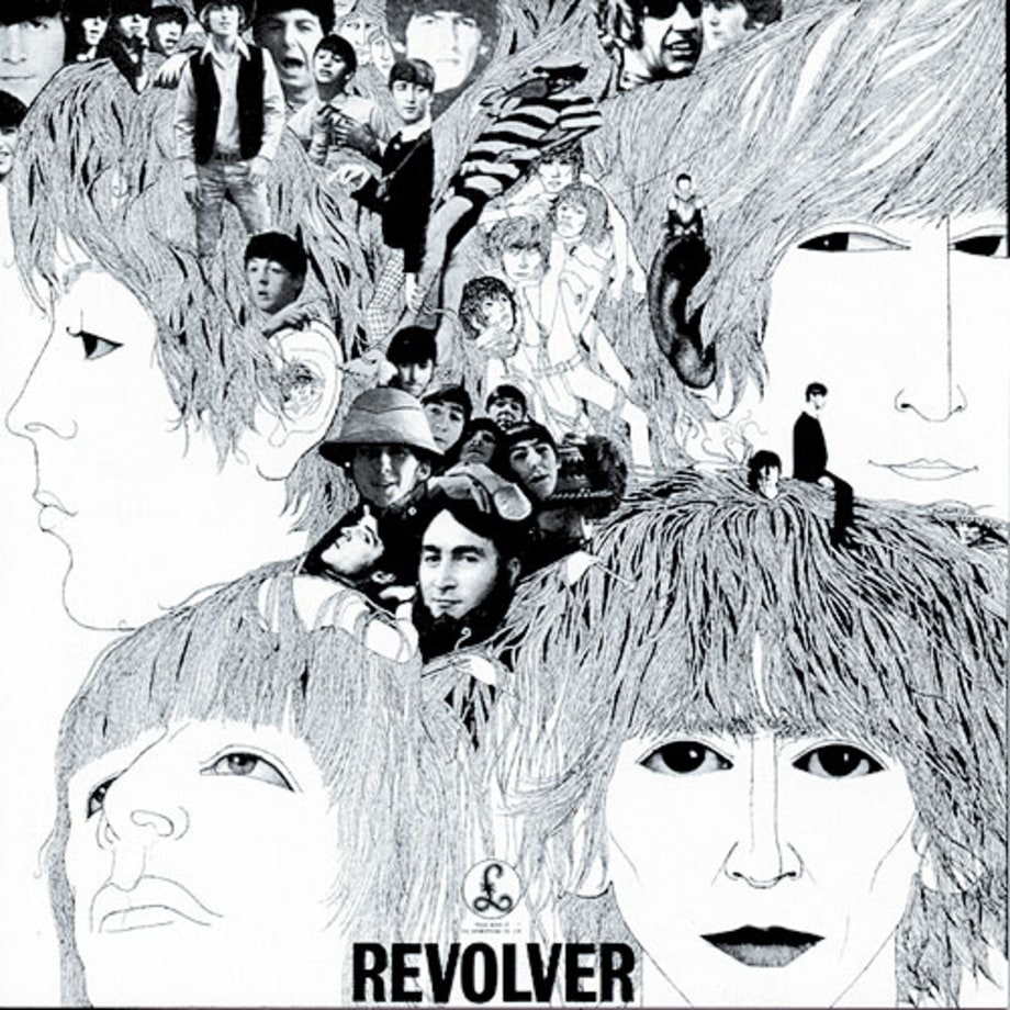 Image result for the beatles revolver album cover photo