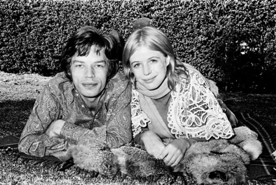 Image result for marianne faithfull and mick jagger story
