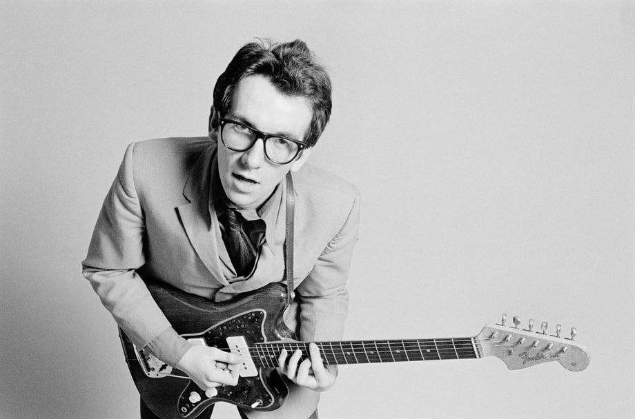 Elvis Costello Busks For CBS 1977 10 Music Publicity