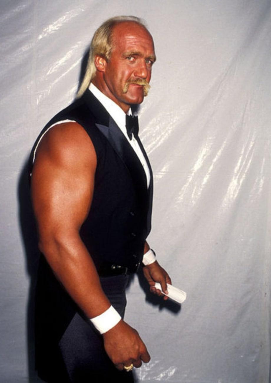 Hulk Hogan 1990 Hulk Hogan Wearing Tux A Hulks Life