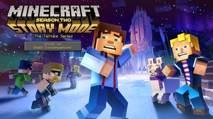 Minecraft Story Mode Season 2 Dated Season 1 Coming To