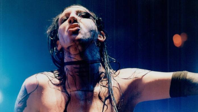 antichrist superstar Marilyn Manson