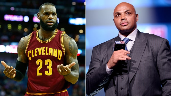 Image result for lebron james and charles barkley 2017