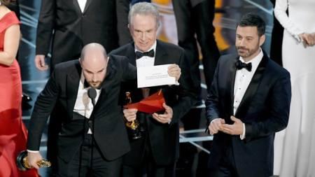 Moonlight wint de prijs voor Beste Film, niet La La Land