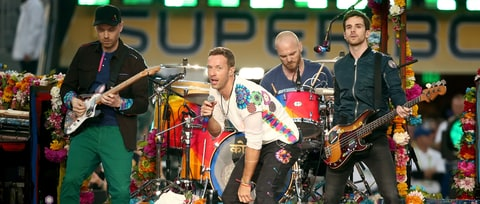 Image result for British band Coldplay partners with refugee and migrant charity