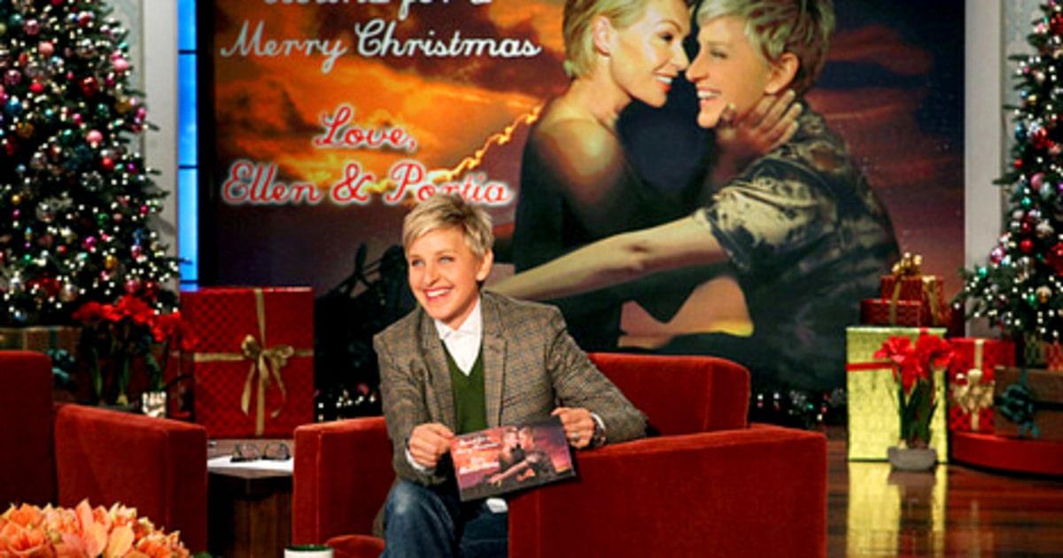 Ellen DeGeneres Portia De Rossi Share Bound 2 Inspired