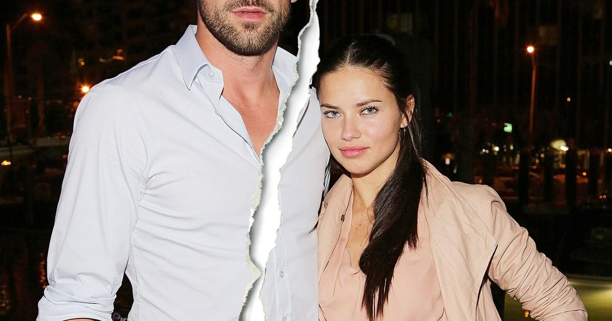 Adriana Lima Husband Marko Jaric Split Supermodel