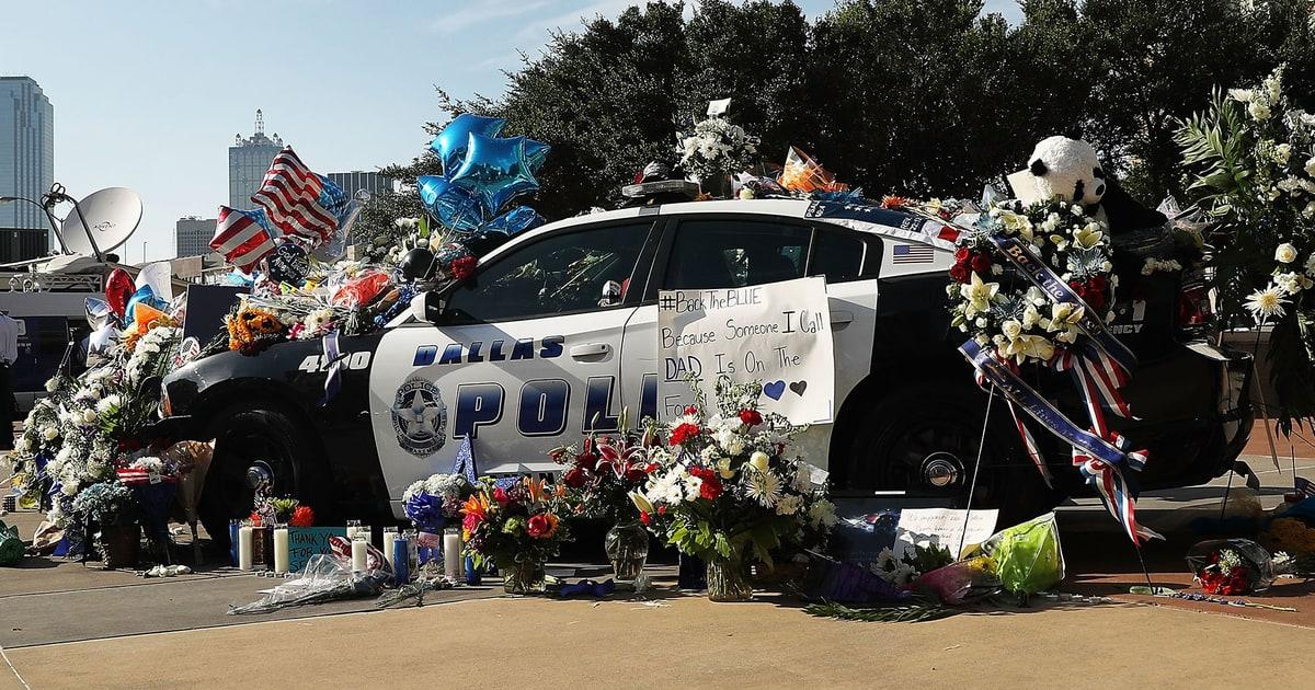 Dallas Shooting Police Swat