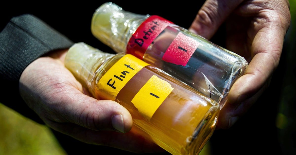 Toxic And Caustic The Flint Crisis