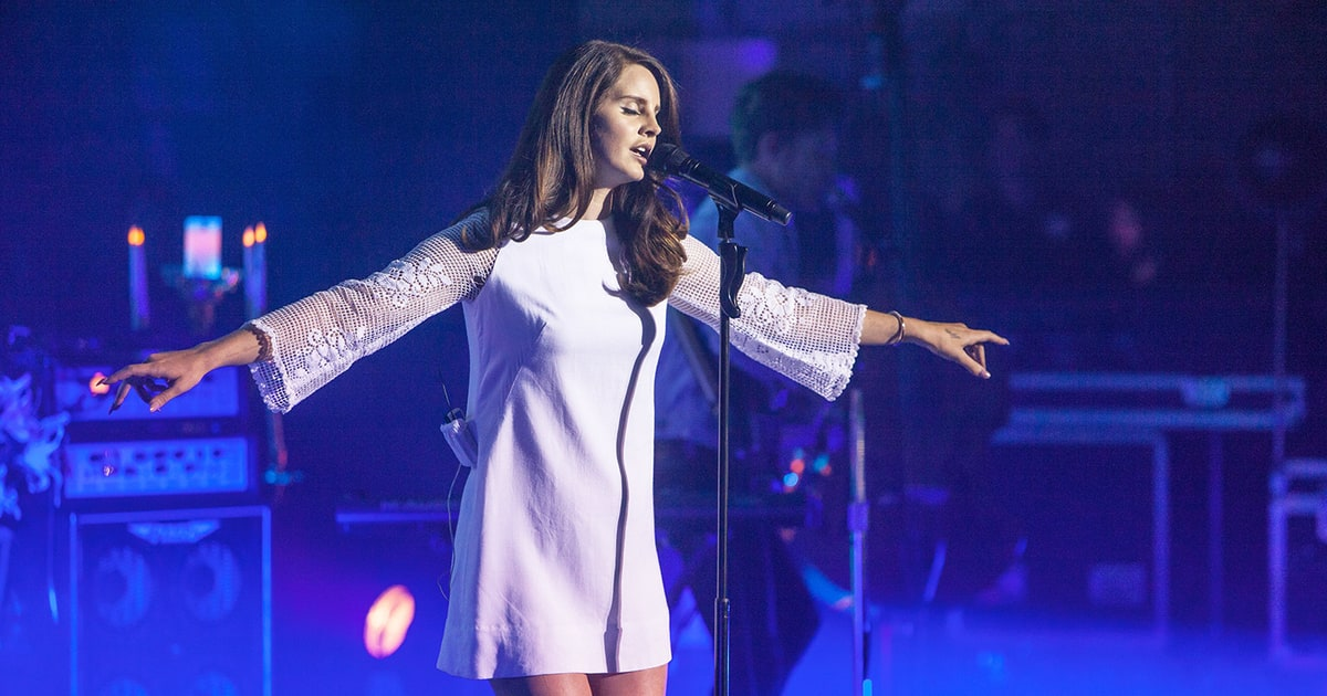 Image result for lana del rey live