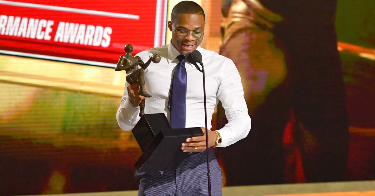 Russell Westbrooks NBA MVP Acceptance Speech Rolling Stone