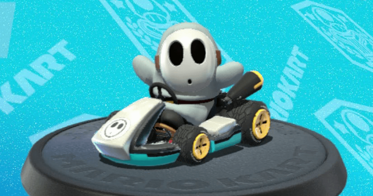 Shy Guy Every Mario Kart 8 Deluxe Character Ranked