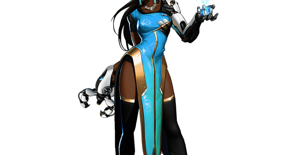 Symmetra Overwatch Character Power Rankings April