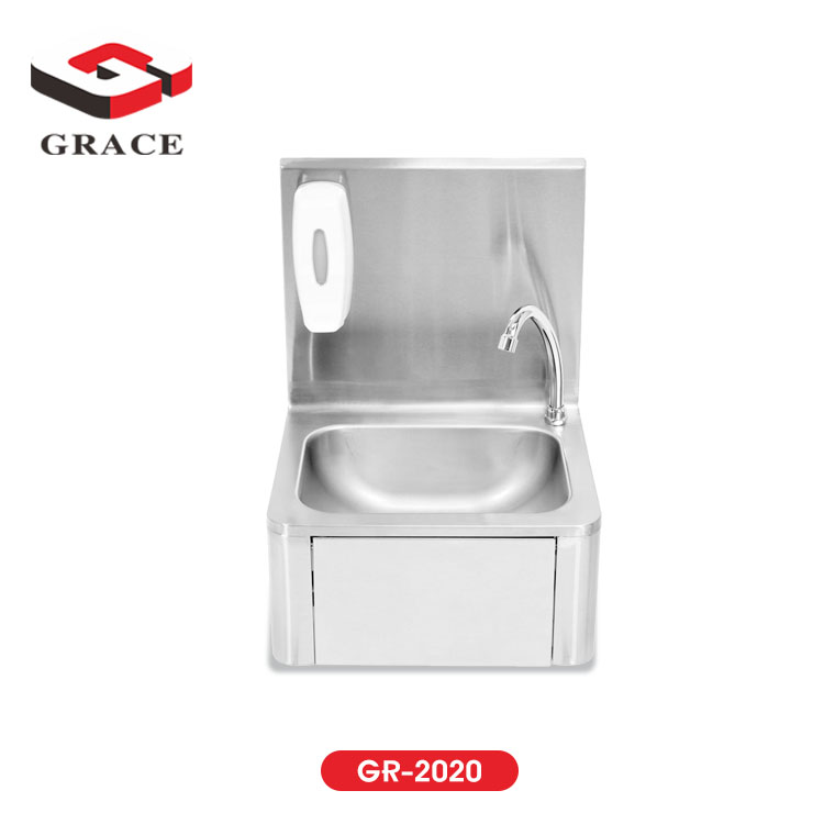 commercial kitchen stainless steel knee