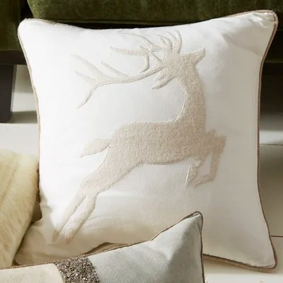 Prancer Pillow Cover
