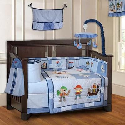 Pirate 10 Baby 10 Piece Crib Bedding Set