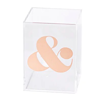 Ampersand Pencil Cup
