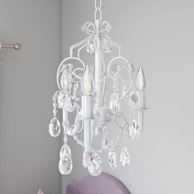 Caden 3-Light Crystal Chandelier