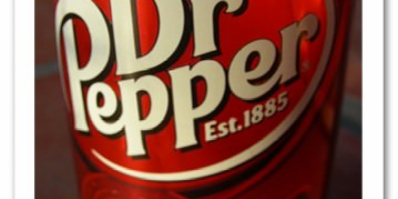 記食。【TOBY】好喝的櫻桃可樂-Dr.pepper