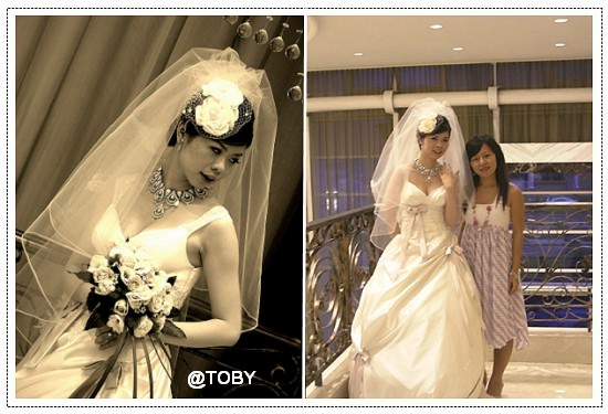 結婚的年紀&季節。Elsa新婚愉快!