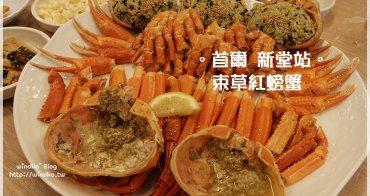 首爾食記∥ 新堂站 束草紅螃蟹속초붉은대게 - 價位實惠且好吃的螃蟹大餐