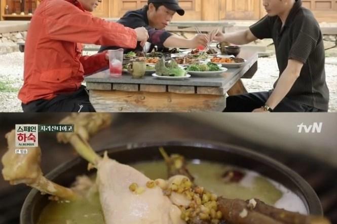 韓綜景點資訊∥ 西班牙寄宿家庭/스페인 하숙拍攝地點-智異山環山路的美味餐廳