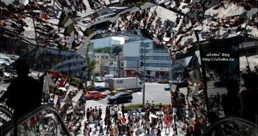東京自由行∥ 明治神宮前站 東急Plaza表參道原宿-幾何鏡面拍照很有趣